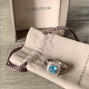David Yurman Jewelry - David Yurman Albion Petite Ring (blue topaz)